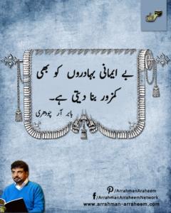 Babar R Chaudhry Fraud